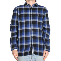 Vans Vans x Anti Hero Wired Flannel Shirt - True Blue/Black