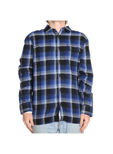 Vans x Anti Hero Wired Flannel Shirt - True Blue