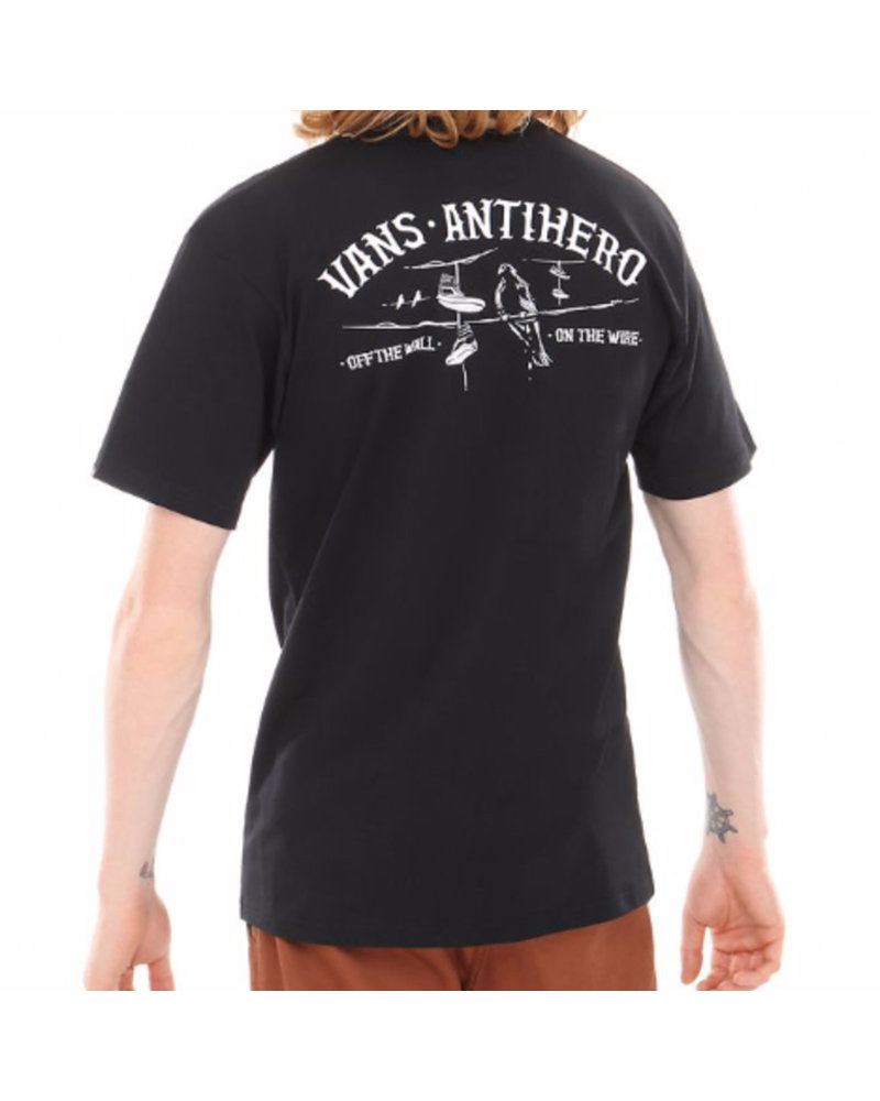 Vans Vans x Anti Hero On The Wire Tee - Black