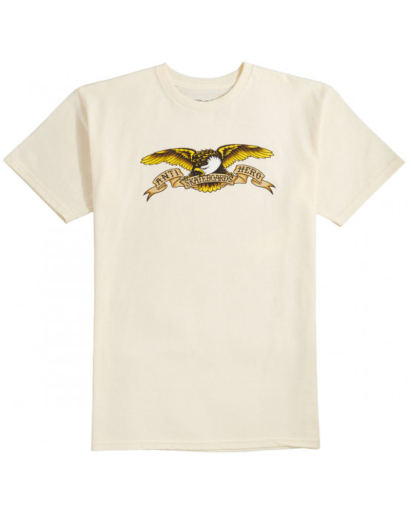 Anti Hero Skateboards Anti Hero Eagle Tee - Cream