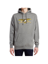Anti Hero Skateboards Eagle Hoodie - Heather Grey