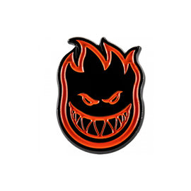 Spitfire Bighead Lapel Pin - Red