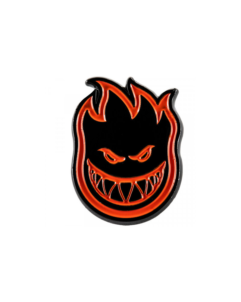 Spitfire Spitfire Bighead Lapel Pin - Red/Black