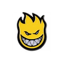 Spitfire Spitfire Bighead Lapel Pin - Yellow/Black
