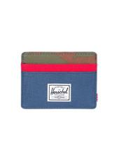 HERSCHEL Charlie 600D Wallet - Navy/Red/Camo