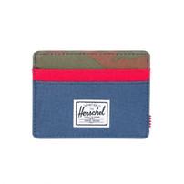 HERSCHEL Herschel Charlie 600D Wallet - Navy/Red/Camo