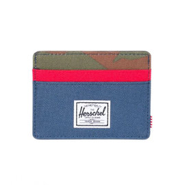 Charlie 600D Wallet - Navy/Red/Camo