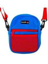 BUMBAG Franky Villiani Compact Shoulder Bag - Blue/Red