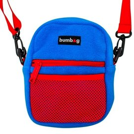 BUMBAG Franky Villiani Compact Shoulder Bag - Blue/Red