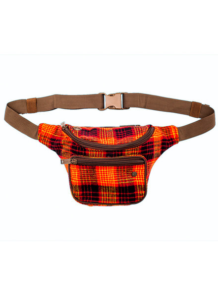 BUMBAG Willis Kimbel Deluxe Hip Pack - Red