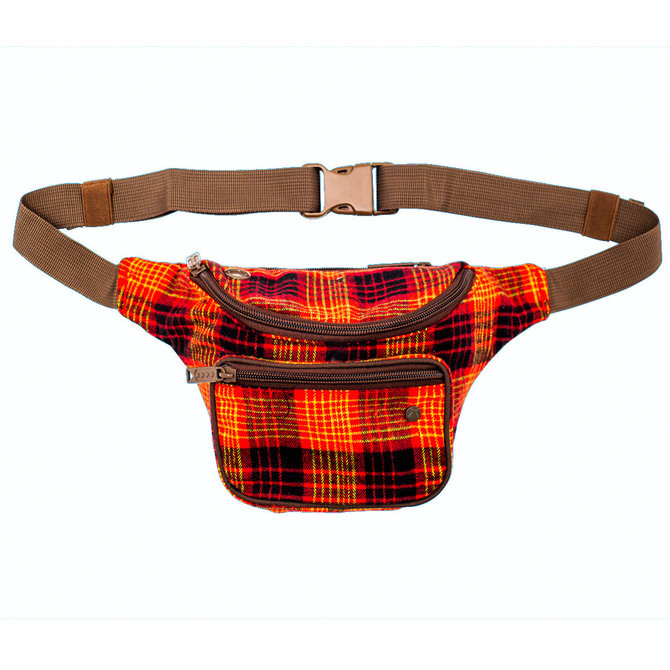 BUMBAG Bumbag Willis Kimbel Deluxe Hip Pack - Red