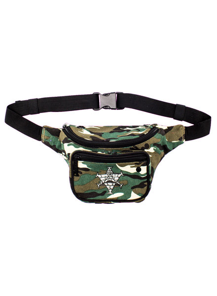 BUMBAG Pyramid Country Deluxe Hip Pack - Country Camo