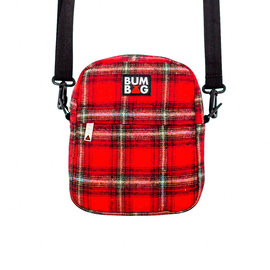 BUMBAG Compact XL Bag - Afrim Red Plaid