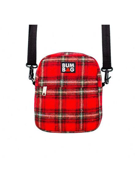 BUMBAG Compact XL Bag - Afrim Red Plaid