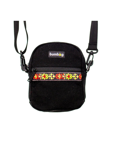 BUMBAG Renfro Compact Shoulder Bag - Black