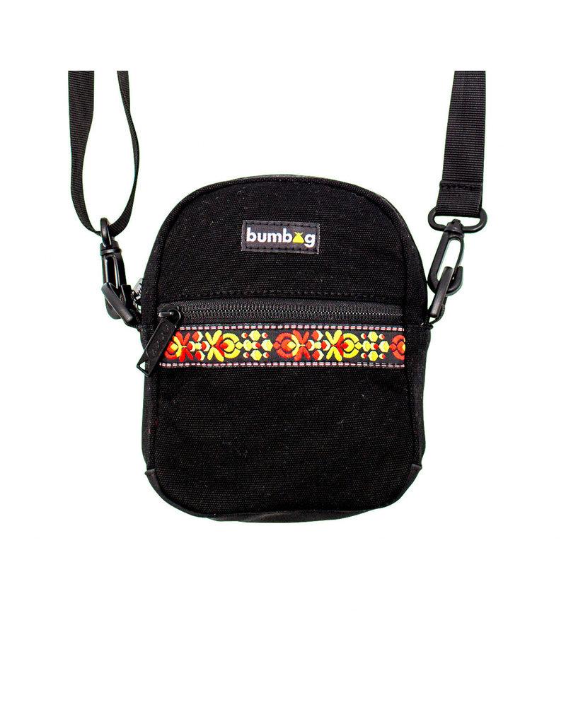BUMBAG Bumbag Renfro Compact Shoulder Bag - Black