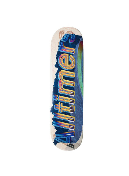 ALLTIMERS ALLTIMERS DECK Z LOGO BLUE 8.25 (19SP02HG0109)