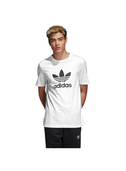 adidas ADIDAS T SHIRT TREFOIL S/S WHITE/BLACK