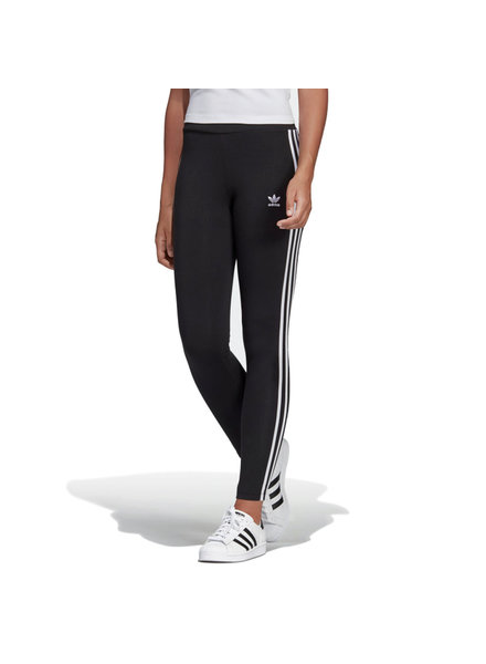 adidas ADIDAS LEGGINGS 3STRIPES BLACK