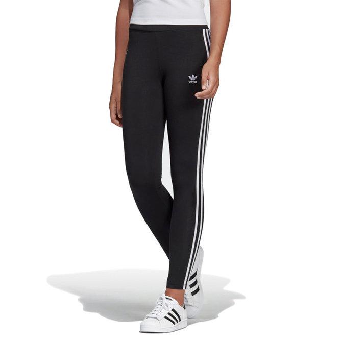 adidas 3 Stripes Black Leggings
