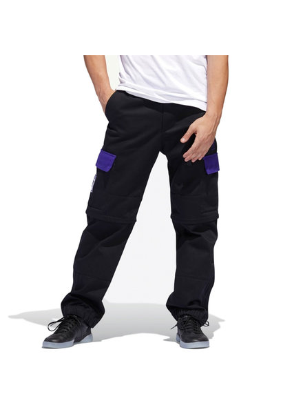 adidas ADIDAS PANTS HARDIES BLACK/PURPLE