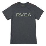 RVCA RVCA T SHIRT BIG RVCA BLACK/GREY
