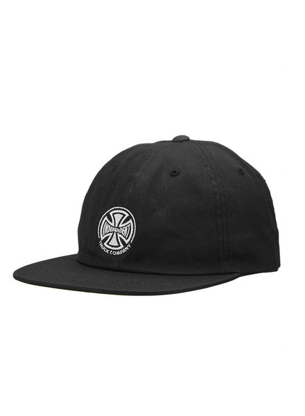Independent Trucks INDEPENDENT HAT EMBROIDERED STRAPBACK BLACK