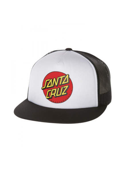 Santa Cruz Skateboards SANTA CRUZ HAT CLASSIC DOT MESH YOUTH