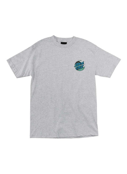 Santa Cruz Skateboards SANTA CRUZ WAVE DOT S/S TSHIRT ATH HTHR