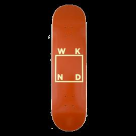WKND WKND DECK LOGO BROWN 8.5 (Q22019008)