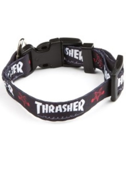 "Thrasher Large Dog Collar (1"" Thick)"