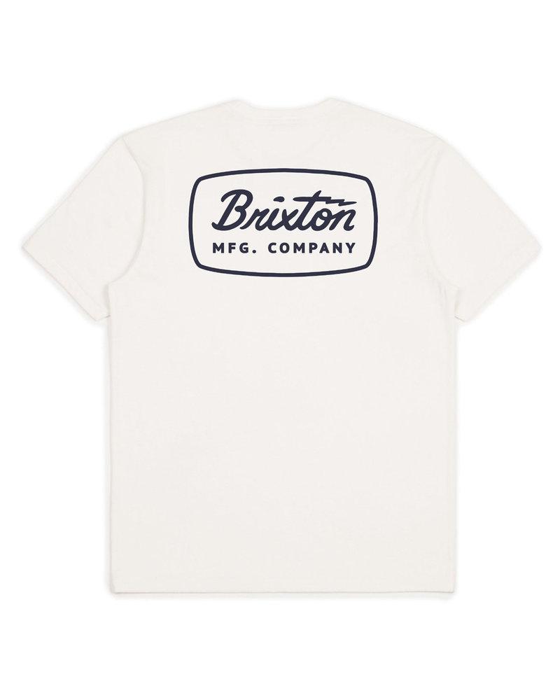 Brixton Brixton Jolt Premium Tee - Off-White-Black