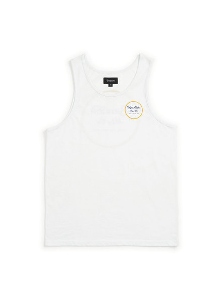 Brixton Wheeler Tank Top - Cloud