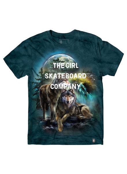 Girl GIRL T-SHIRT WOLF SANS