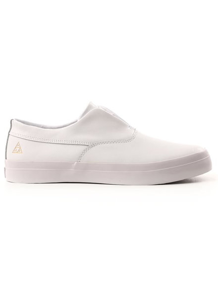 HUF Dylan Leather Slip-On - White