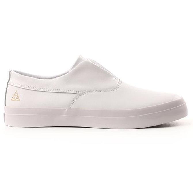 Huf - Dylan Leather Slip-On (White