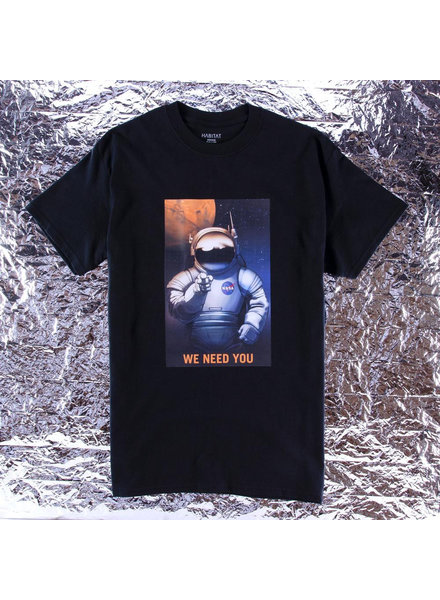 HABITAT HABITAT T-SHIRT NASA WE NEED YOU