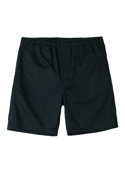 OBEY Black Easy Shorts