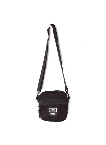 OBEY OBEY BAG TRAVELER CONDITIONS BLACK
