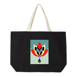 OBEY Geometric Flower Bag
