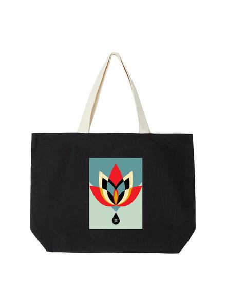 OBEY Geometric Flower Bag