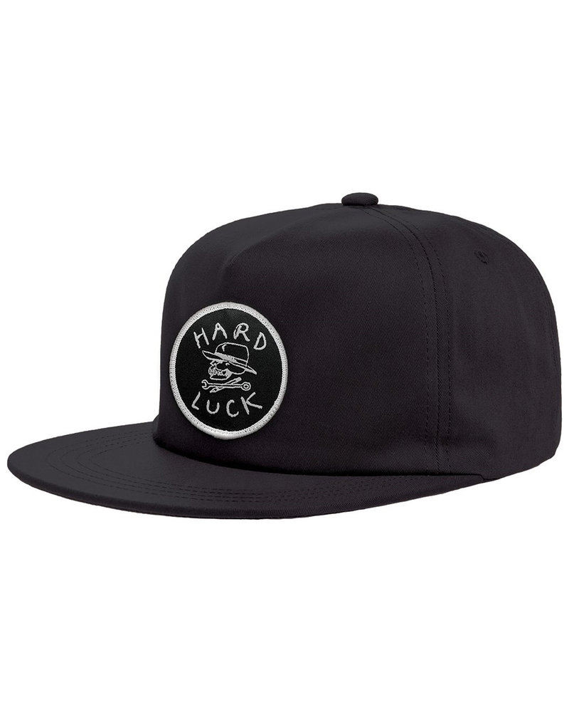 Hard Luck MFG HARD LUCK HAT CIRCLE PATCH UNSTRUCTURED BLACK