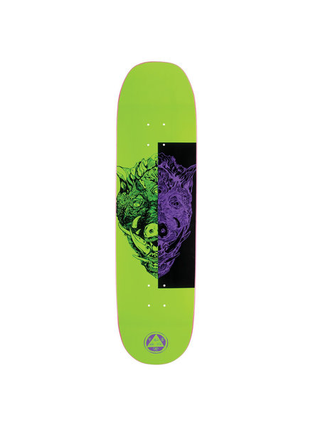 Welcome Skateboards WELCOME DECK HOG WILD ON MOONTRIMMER 8.5 GREEN (HOGWMOONNGRN)