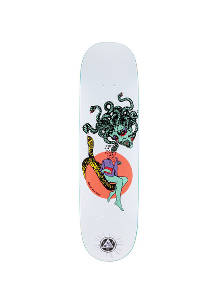 Welcome Skateboards WELCOME DECK GORGON ON ENENRA WHITE (GORGENENWHIT)