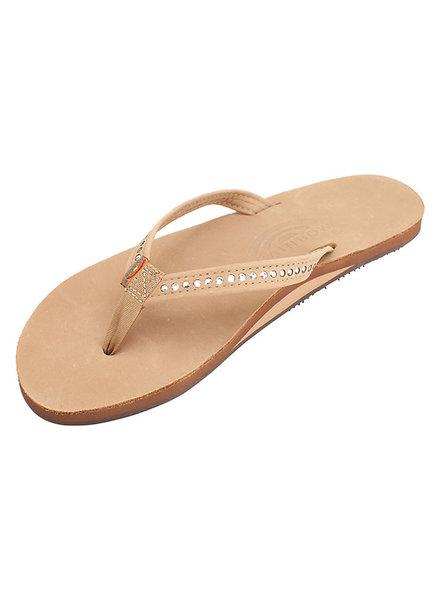 Rainbow Sierra Brown with Swarovski Crystals Sandal