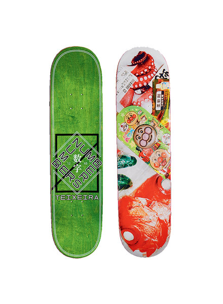 NUMBERS NUMBERS DECK TEIXEIRA EDITION 6 8.0 - SERIES 2