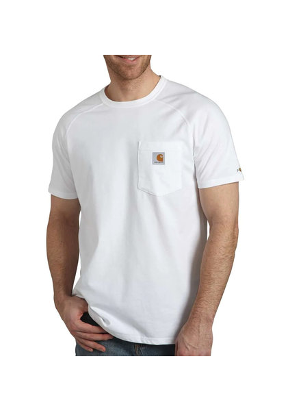 CARHARTT INC. CARHARTT T-SHIRT FORCE COTTON DELMONT WHT (100410)