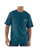 CARHARTT INC. CARHARRT T-SHIRT WORKWEAR PKT S/S STRM BLUE