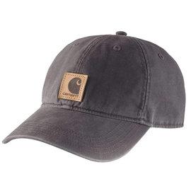 CARHARTT HAT ODESSA CAP COTTON SANDSTONE BLK (001)