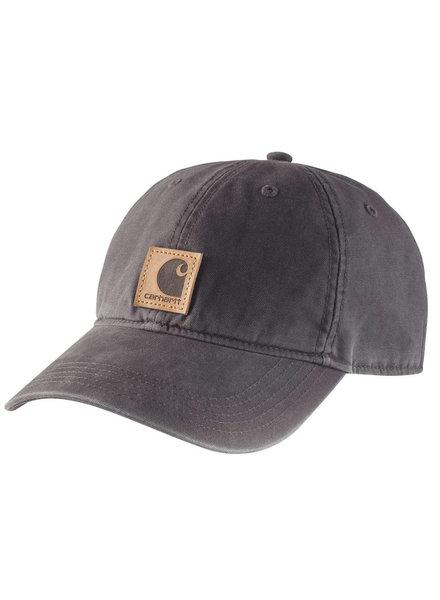 CARHARTT INC. CARHARTT HAT ODESSA CAP COTTON SANDSTONE BLK (001)